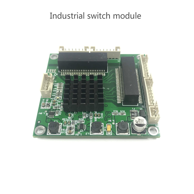 Image 3 - Industrial grade mini 3/4 port Gigabit switch 10/100/1000Mbps wide temperature mini three four port switch module-in Network Switches from Computer & Office