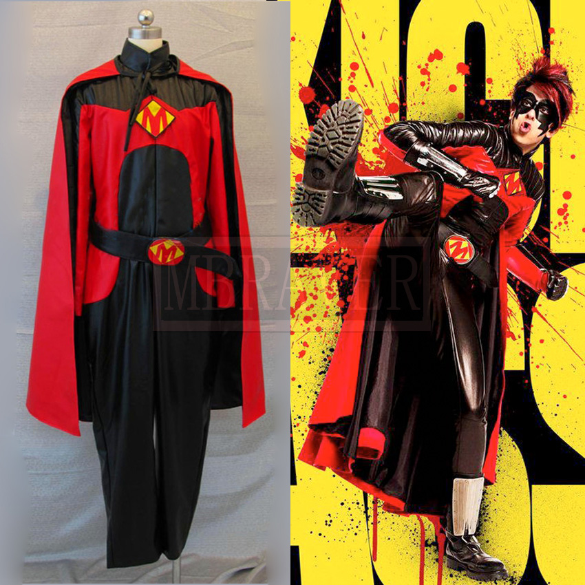 Kick Ass Red Misk Cosplay Costume