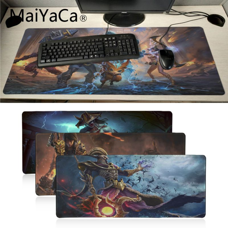 MaiYaCa Smite Video Games Comfort Mouse Mat Gaming Mouse pad Aestheticism notebook pc accessories laptop pad mouse for dota2 lol