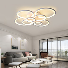 купить 2019 Model Remote control living room bedroom modern led ceiling lights luminarias para sala dimming led ceiling lamp Fixtures по цене 5814.91 рублей