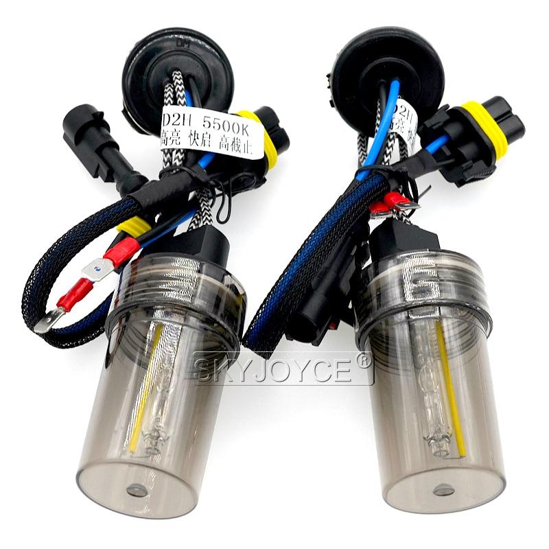 55W Xenon H1 H3 H7 H11 9005 9006 9012 D2H Canbus HID Kit Car Light EMC No Error Canbus HID Ballast 55W 5500K Auto Headlamp Bulb (10)