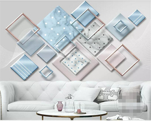 Купить с кэшбэком Beibehang Custom photo wallpaper mural HD 3d geometric polygonal marble texture stitching background wall wallpaper for walls 3d