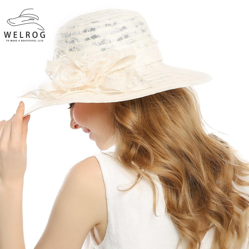 Wedding Dress Preservation Uv Protected: Aliexpress.com : Buy WELROG Lady Derby Dress Church Cloche