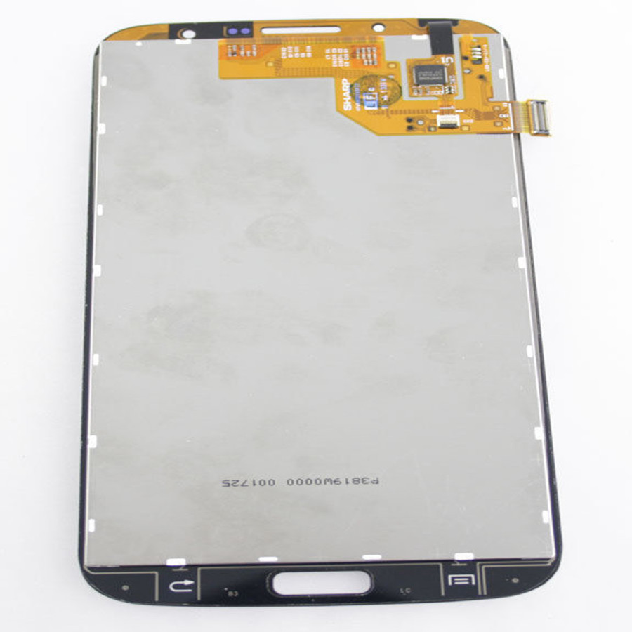 Sinbeda White or Black 1280x720 LCD For <font><b>Samsung</b></font> Galaxy Mega 6.3 <font><b>i9200</b></font> i9205 LCD Display and Touch Screen with Digitizer Assembly image