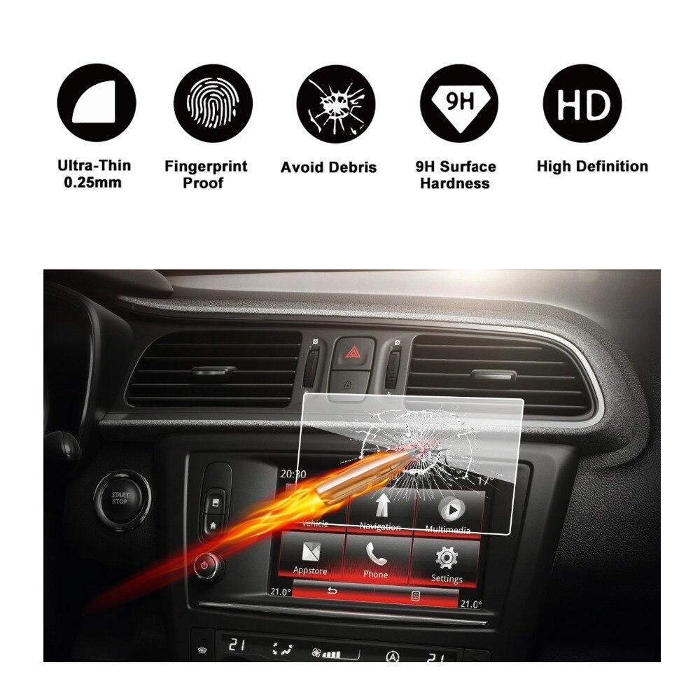 7/'/' 150*90MM Navigation tempered glass screen Protective film for Renault Kadjar