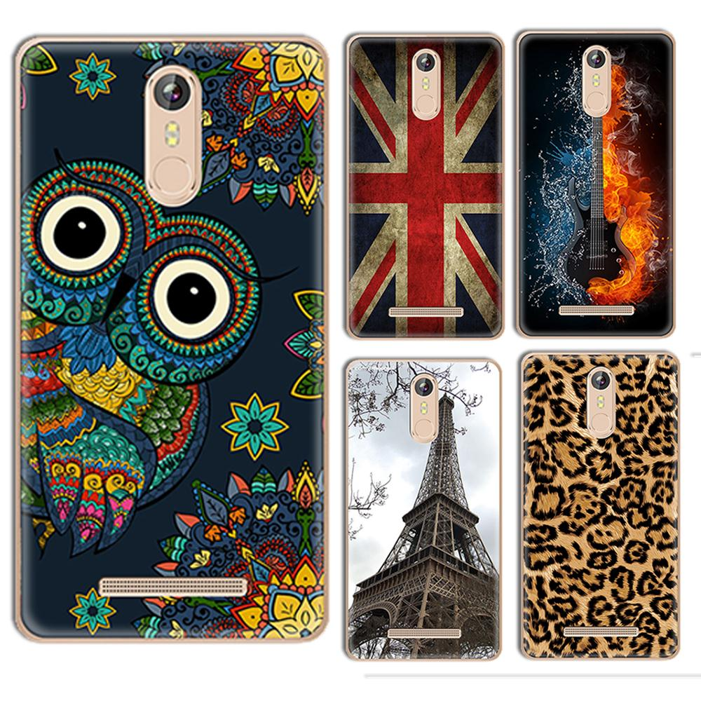 Phone case For Leagoo M8/ M8 Pro 5.7-inch Cute Cartoon High Quality Printed TPU Silicone Rubber Gel Clear Pudding Soft Case