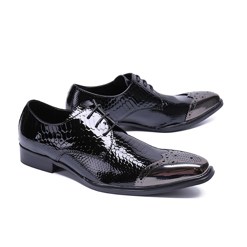 as Nouveau Mâle Show Respirant 2018 Luxe De As Zapatillas Show Métal Designer Casual Chaussures Bout Pansement Marque Mode Gentleman Hommes Appartements Serpentine nF8PF4RH