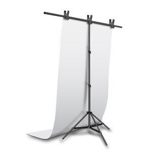 """Image 2 - Toile de fond sans couture imperméable 100cm * 200cm 39 """"* 79"""" toile de fond blanche de PVC pour léclairage de Studio de photographie de Photo"""
