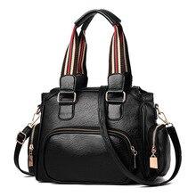 2018 new high-capacity Boston bag for European and American women's bag pu women's bag zipper single-shoulder  handbag цена и фото