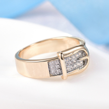 Belt Shaped Ring for Women