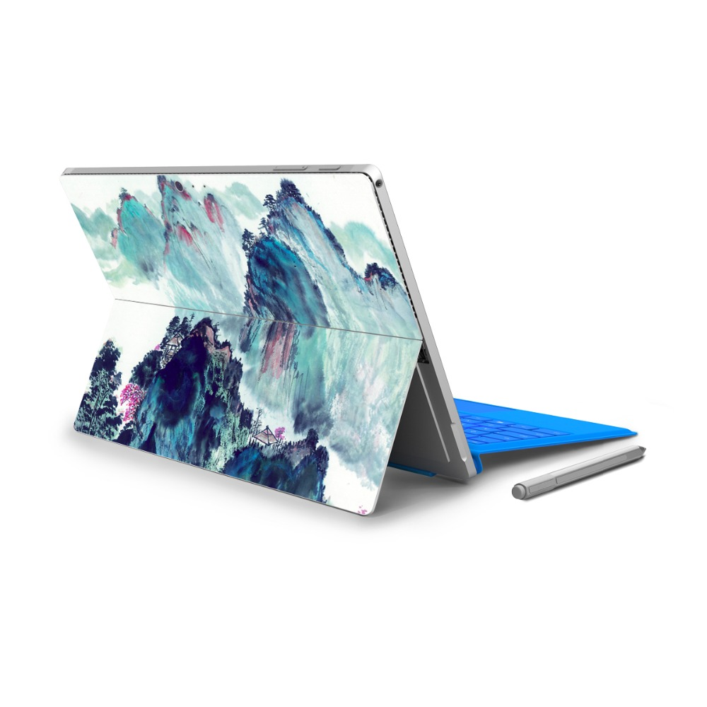 Hot Sale For Micro Surface Pro 4 Vinyl Back Full Decal