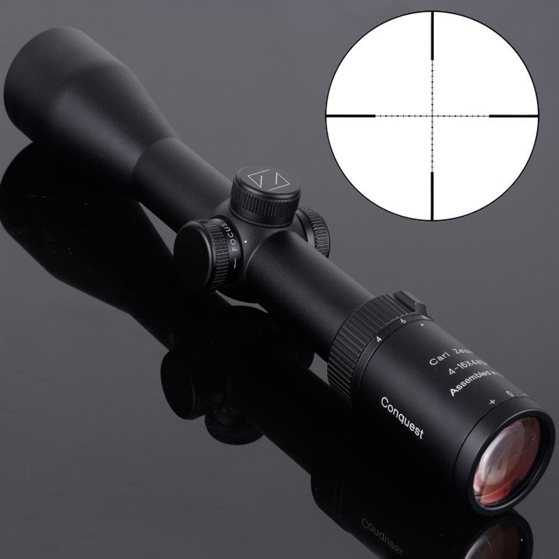 Carl Zeiss 4-16x44SF Tactical Optical Riflescope New Style Fast Focus Red And Green Dot Illuminated Hunting Scope For Rifle