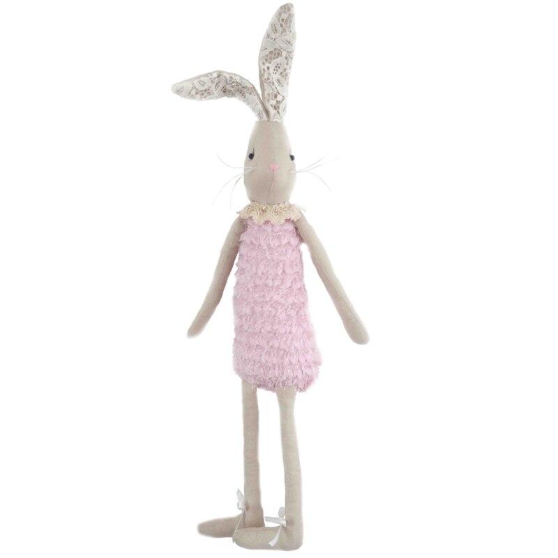 65 cm Cute plush toy rabbit doll cute rabbit baby girl gift soft kawaii stuffed plush bunny toy christmas gift plush baby toy
