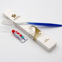 30/50/Pcs/Lots Hotel Disposable Toothbrush with Toothpaste Kit Convenient Plastic Travel Tooth Brush Teeth Cleaning Tools