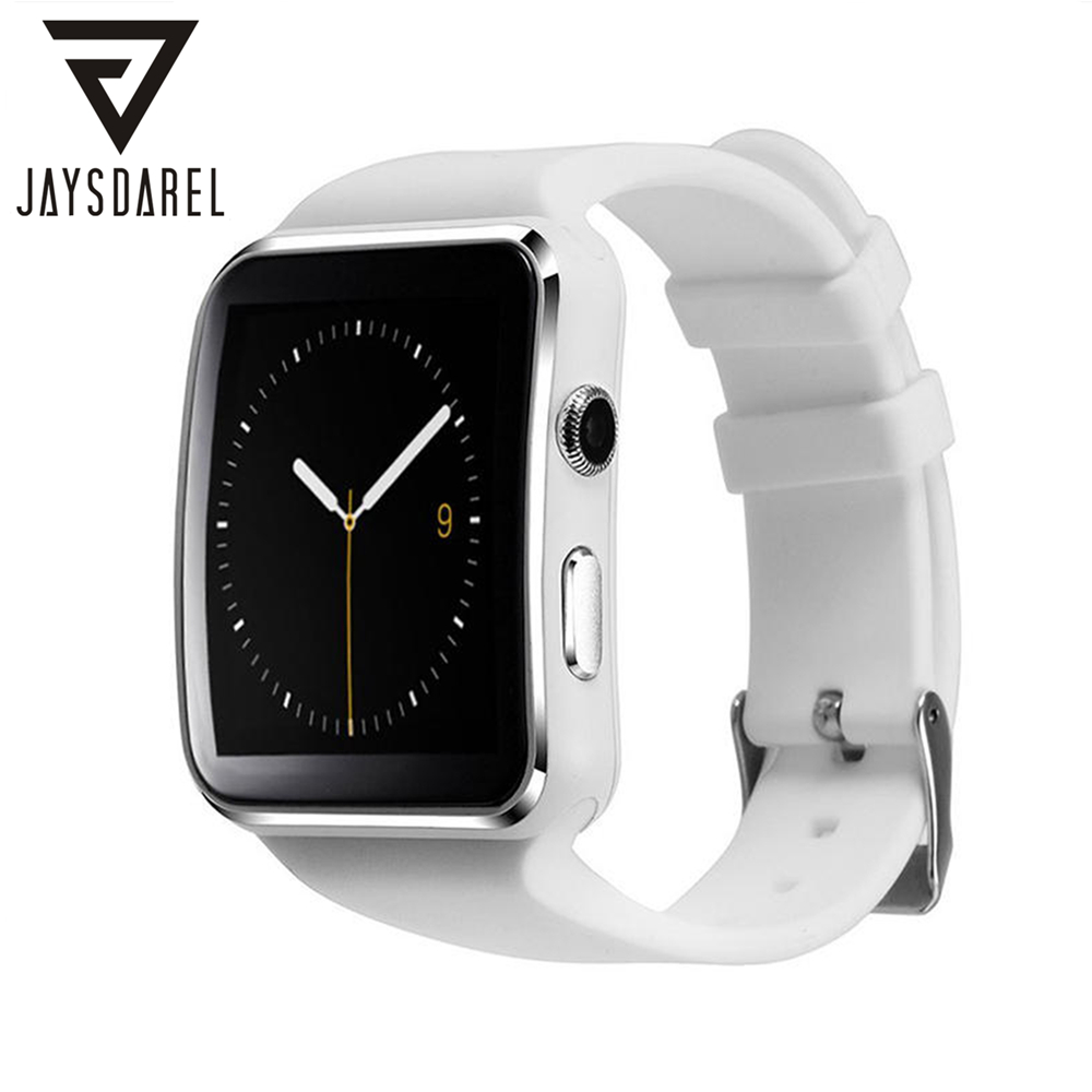 JAYSDAREL Smart <font><b>Watch</b></font> X6 Curved Screen <font><b>Support</b></font> <font><b>Sim</b></font> Card HD Camera <font><b>Pedometer</b></font> Whatsapp Bluetooth <font><b>Sport</b></font> <font><b>Watch</b></font> For Android IOS