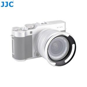 Image 2 - Jjcカメラネジアダプターリング52ミリメートル金属レンズフード用富士フイルムX T100 XC15 45mm f3.5 5.6 ois pzレンズ