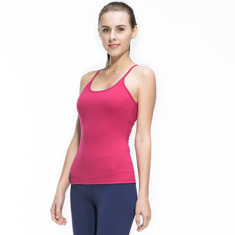 76697a1af3074 Women Fitness Gym Sports Yoga Vest Sexy Sleeveless Shirts Running Clothes  with Breathable Quick Dry Spandex Tank tops-in Yoga Shirts from Sports ...
