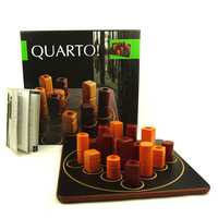Quarto Board Game 2 Players To Play Funny Party Games France Game chess Puzzle Wooden