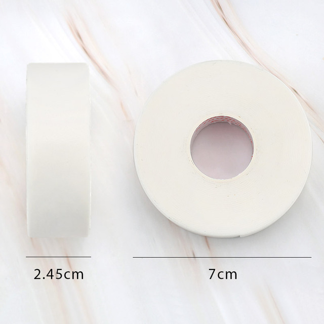 4.5m/Roll Foam Sponge lash Patch Tape Lint Free Eye Pads Under Patches Eyelash Extension Supply Eyelash Extension Tape 5