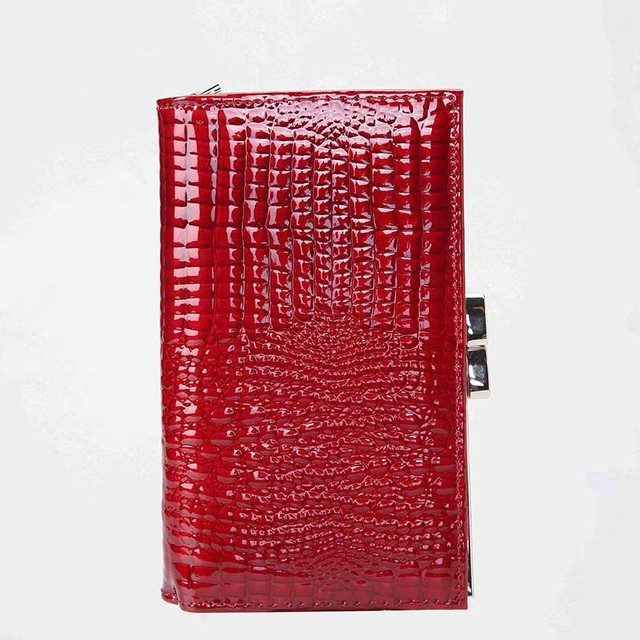 Short Women Wallet Genuine Leather Wallet Female Alligator Hasp Coin Purse Women Purses Mini Womens Wallets And Purses