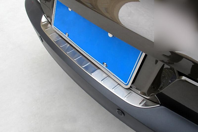 1pcs Outer Rear Bumper Guard Plate For Volkswagon VW Tiguan 2009-2015