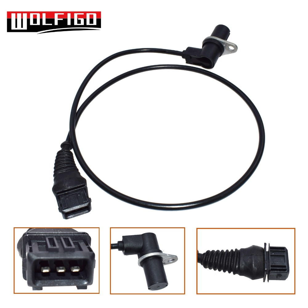WOLFIGO For BMW E36 E38 E39 528i 328i Z3 New Crankshaft Position Sensor  12141703277,12 14 1 703 277,6PU009110-001,S103557002Z