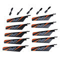 10Pcs Main Rotor Blade + 5Pcs Tail Blade Parts for V911 4CH RC Helicopter