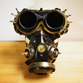 Steampunk Steam Punk Cyber Gothic Goth Mask Goggles Halloween Cosplay Gas Respirator Mask II + FREE SHIPPING