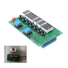 מנוע צעד נהג בקר מודול זווית/כיוון/מהירות/זמן לתכנות לוח DC 8 27V