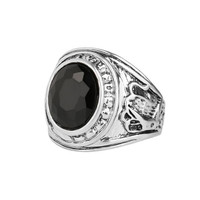 HOT The ancient ring Many black stones punk ring restoring ancient ways Fashion lovers ring for men Jewelry