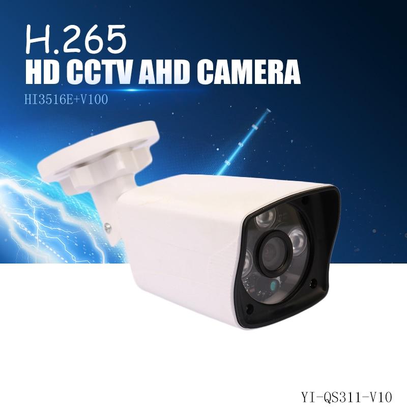 YiiSPO 1080P IP Camera HD H.265 2.0MP outdoor waterproof Night Vision HI3516E+V100 XMeye P2P CCTV camera ONVIF phone view h.264