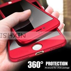 Чехлы с полным покрытием 360 градусов для Huawei P Smart Psmart, чехол для телефона 5,65, чехол для Huawei Enjoy 7 S 7 S, чехлы из закаленного стекла