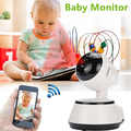 Baby Monitor IP Kamera Radio Video Nanny Elektronische Baba Drahtlose Wifi Home Security Kamera Videcam Webcam 720PHD Netzwerk