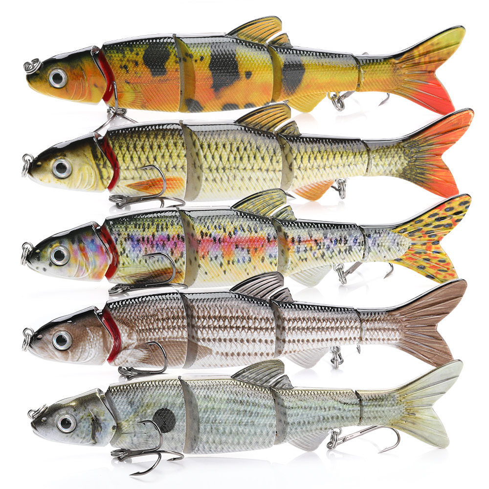TREHOOK Fishing Lures Swimbait 16cm 38g Sinking Wobblers For Trolling Lure Hard Artificial Bait Crankbaits Fishing Tackle Isca