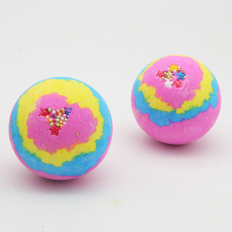 1pcs Deep Sea Bath Salt Body Essential Oil Bath Ball Natural Bubble Bombs Ball Flavors To Choose Drop Ship