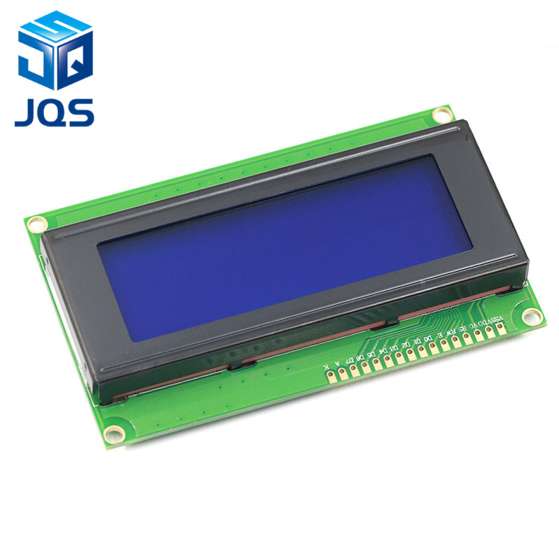 LCD2004+I2C 2004 20x4 2004A Blue Screen HD44780 Character LCD /w IIC/I2C Serial Interface Adapter Module For Arduino
