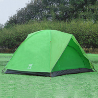 Orange/green/blue Camping Tent 3 person outdoor hiking tents beach fishing tent 200*200*135cm outdoor camping equipment