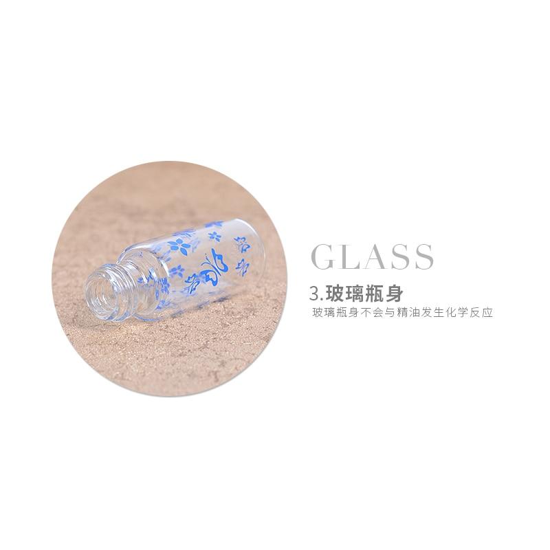MUB - 1 pc 5ml Mini Botol Parfum Kaca Isi Ulang Dengan Roll-on - Alat perawatan kulit - Foto 5