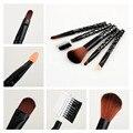 Продвижение новых прибытия высокого качества 5 шт указан Косметические кисти для макияжа Фонд расческой