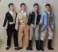 Ken Boneca + Conjunto de Roupas + Sapatos/com 12 Flexível conjunta/com Roupa Formal Vestido/para Boneca Barbie Boy Noivo Presente brinquedo