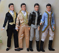 Ken Doll + Clothing Set + Shoes / with 12 joint Flexible / with Formal Dress Clothes / for Barbie Boy Bridegroom Doll Gift Toy
