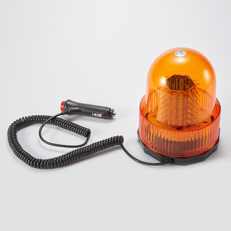 12v 72 Led Waterproof Car Vehicle Magnetic Mounted Strobe Police Warning Light Beacon