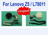 100% Original Melhor Trabalho de Toque ID Sensor de Impressão Digital Menu Home Botão Retorno Chave Cabo Flex Para Lenovo Z5 L78011 Telefone partes