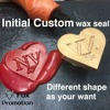 Customize Wax Stamp With Logo With Wood Handle DIY Ancient Seal Retro Stamp Personalized Stamp Wax