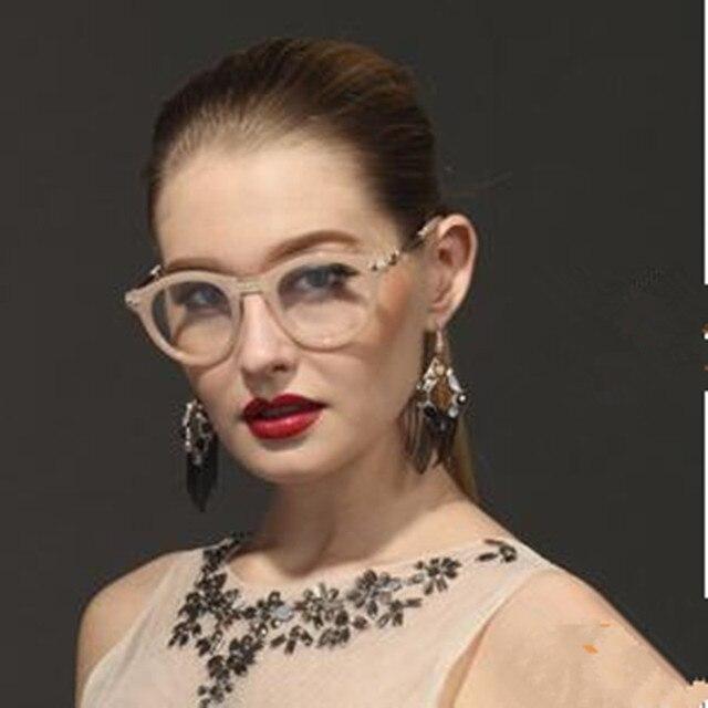 Новинка женщины очки кадр урожай ретро мужчины очков прозрачные линзы рамка считывания оптический бренд дизайнер Eyeware óculos