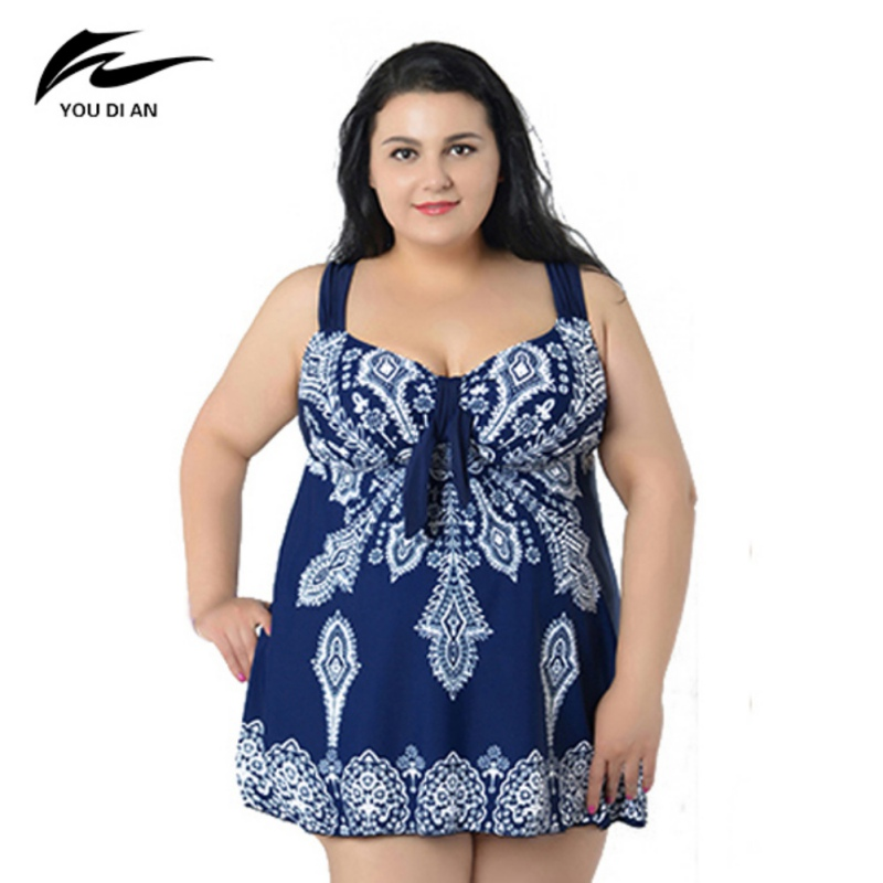 Summer Print Women Swimming Suit Sweet Bathing Suit Beach Dress Suit for Women Sexy One Piece Clothes Plus Size Swimwear sexy 4xl 10xl bodysuit plus size swimwear one piece swimsuit print women swimming suit sweet bathing suit beach suit for women