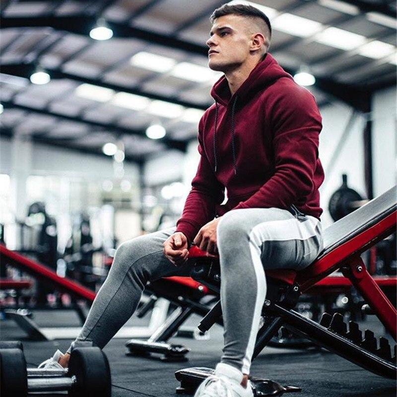 HTB1Z3mTXoT1gK0jSZFhq6yAtVXa0 ENJPOWER New Men Pants Hip Hop Fitness clothing Joggers Sweatpants Side stripe classic fashion Streetwear Track Pants Trousers