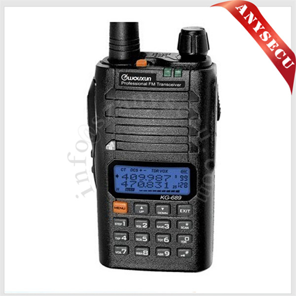 Good price KG-689 two way dual band radio kg-689 w...