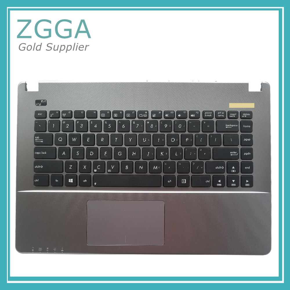 Original Laptop Upper Cover For ASUS X450 X450V X452M K450C A450C W418L Y481L F450V Palmrest With US Keyboard TouchPad EU