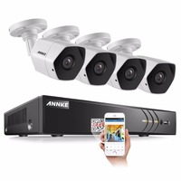 ANNKE Full HD 8CH 3MP Security Camera System CCTV Kit 8 Channel 1920 1536 Outdoor Surveillance